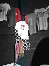 Lola's Vintage: T-Shirt Display