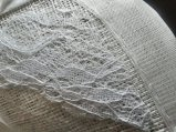 The lace can also be glued if prefered, however I lightly hand stitched.