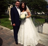 The now Mr and Mrs Mc Ilvenny