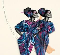 Sabine Pieper Delicate Shades Campaign