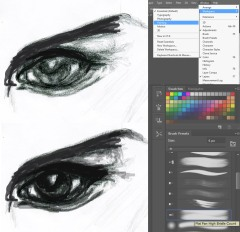 Selecting-A_Brush_Fashion_Illustration_Photoshop_Kooky_Miss_Match_Blog